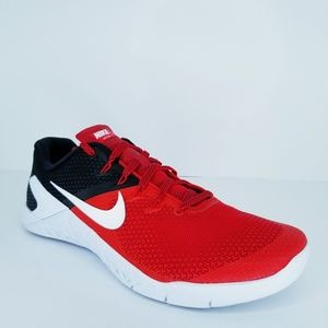 Nike Shoes - Nike Metcon 4  Red Black Trainers Workout Crossfit
